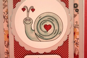 Snail Love Close up