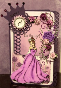 Custom Bday-Princess