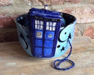 dr who yarn bowl